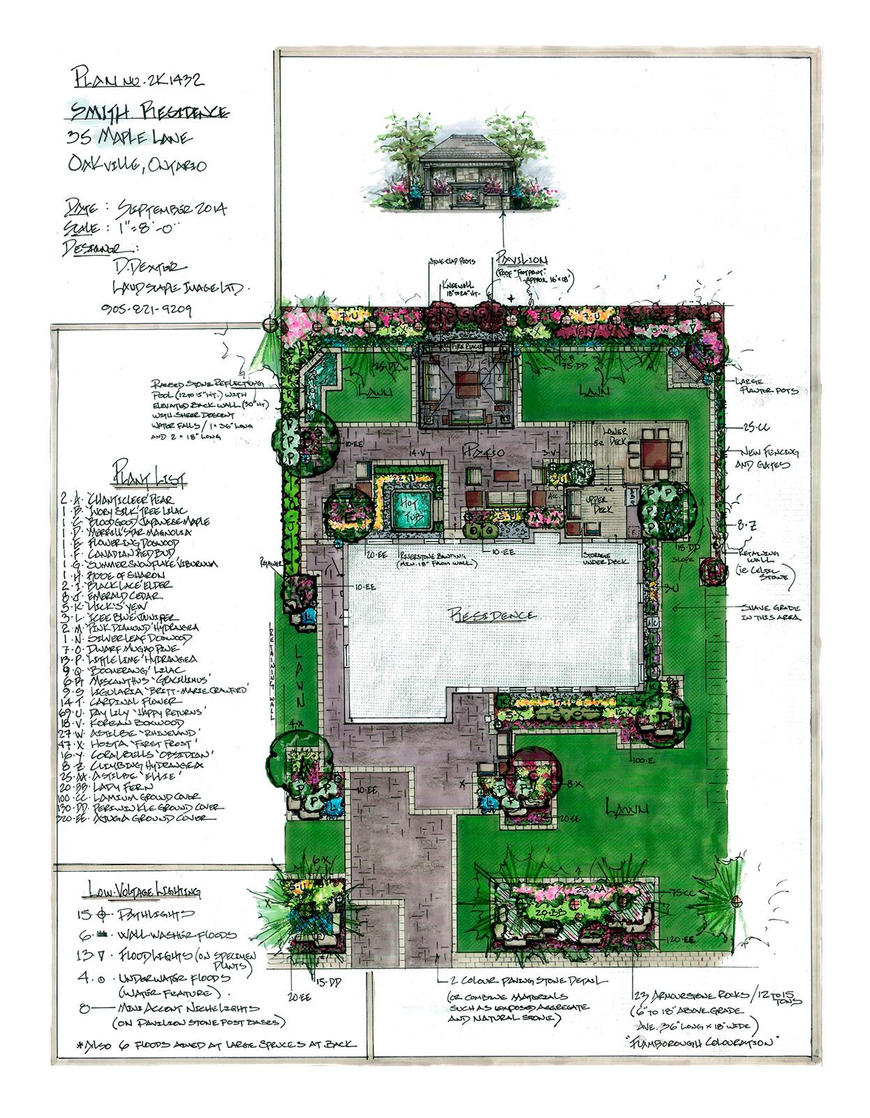 Landscape Image Award Winning Residential Landscape Designs